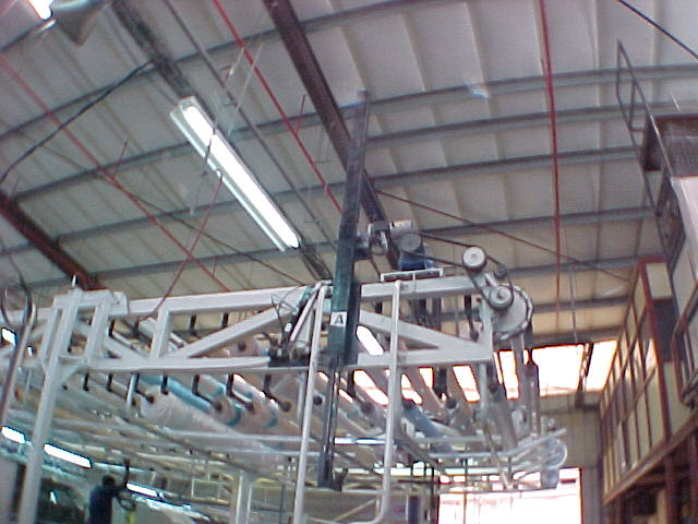 4.8.1.1 Aminach mattress Factory 35 cloth roller infeed conveyor for sewing