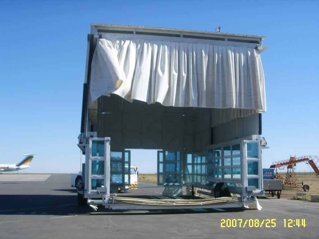 MEC Movable Hangar